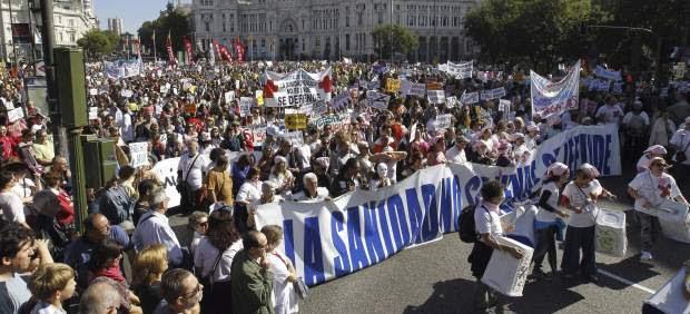 Nueva 'marea blanca' en Madrid