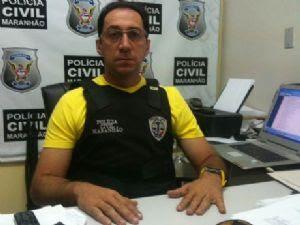foto delegado regional de Codó, Rômulo Vasconcelos