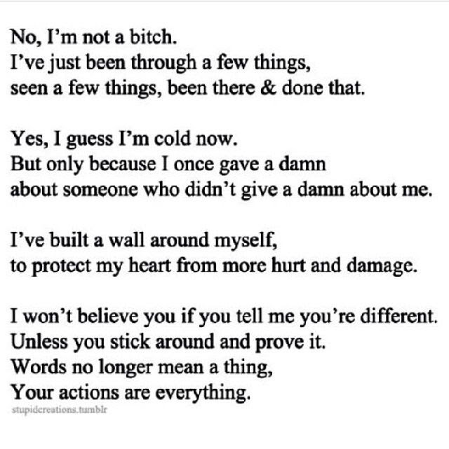 Quotes About Being Cold Hearted