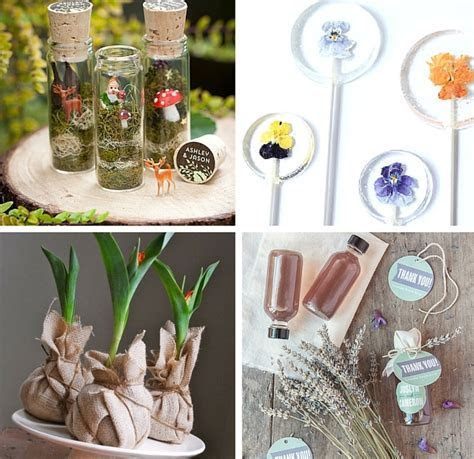 30  Sweet Handmade Ideas for Garden Wedding Favors