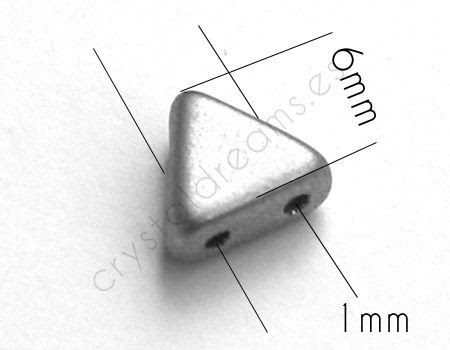 KHEOPS® PAR PUCA® 6 MM - Crystal - 10gr. [118-CR] - €2.50 : CRYSTALDREAMS BEADS, On-line beads Store