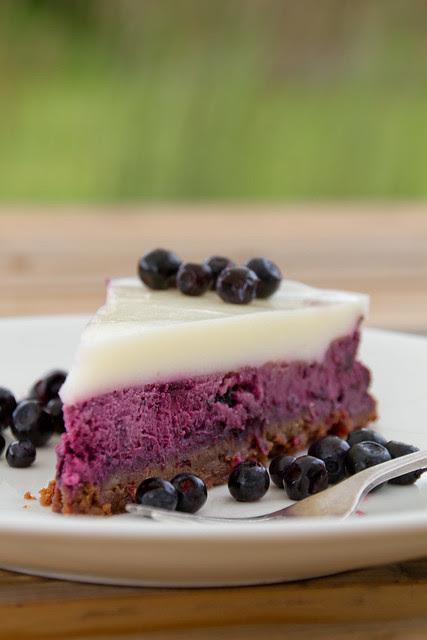 Blueberry cheesecake / Mustika-toorjuustukook