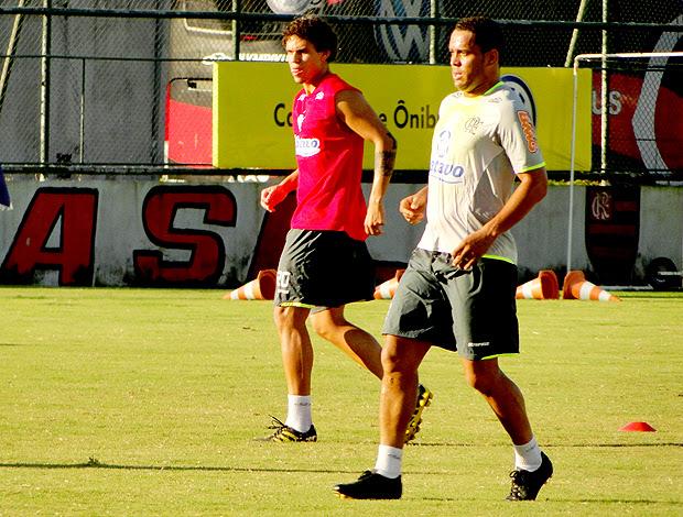 Val Baiano treino Flamengo