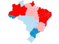 eleições mapa (Foto: Editoria de Arte/G1)