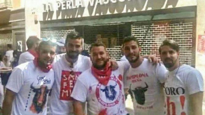 Els cinc membres de La Manada