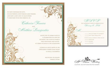 Vintage Wedding Invitations ? A Vibrant Wedding