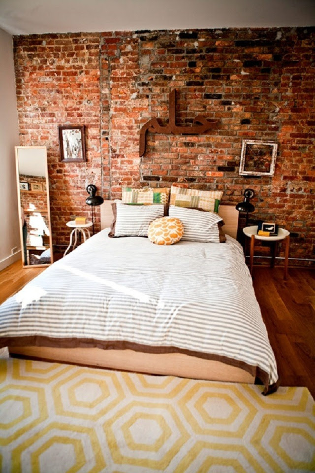 Breathtaking Exposed Brick Walls Interiors That You Will ...