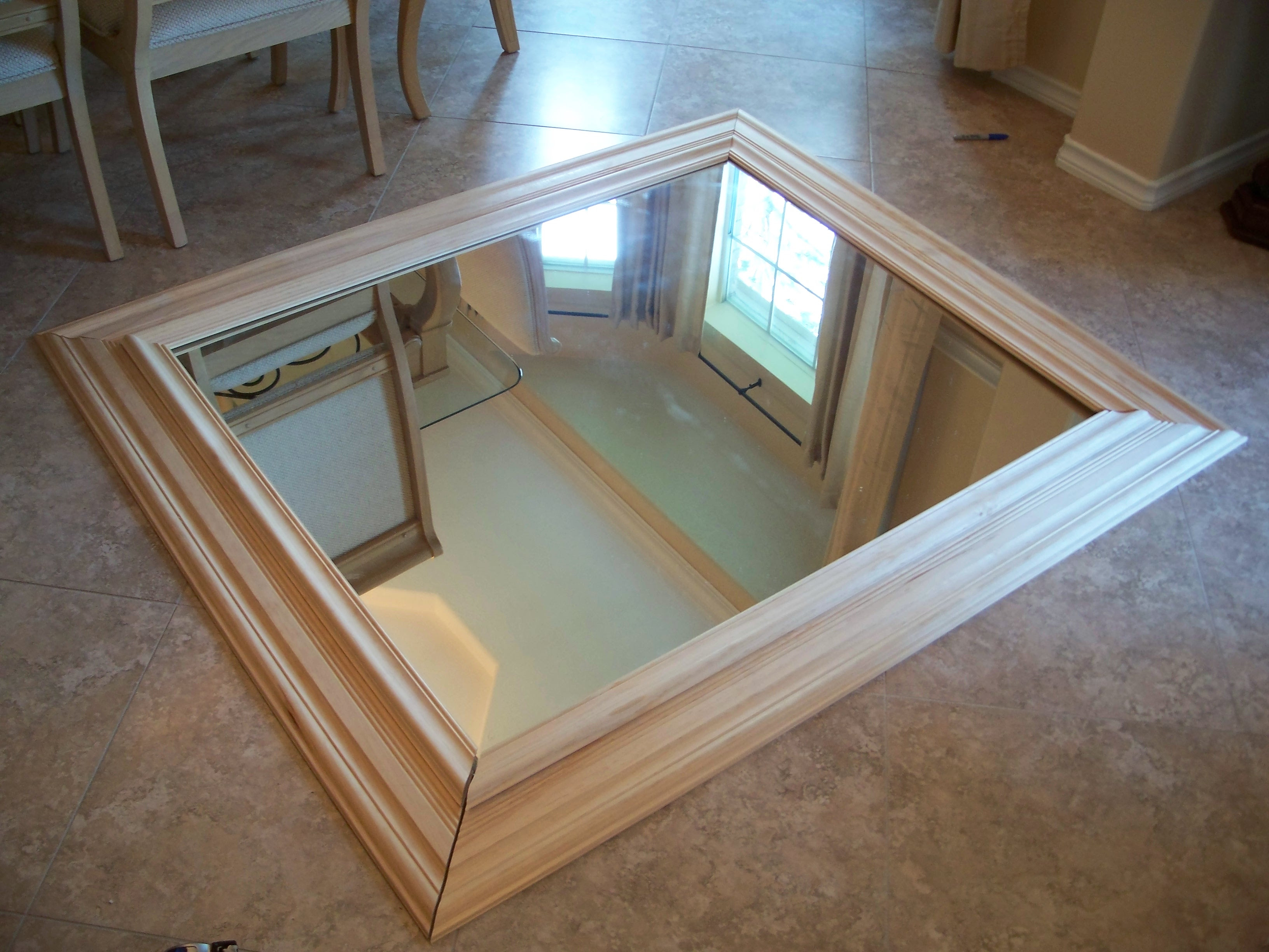 How to Make Wood Frame Mirror