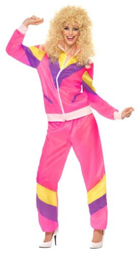 15. Pink Shell Suit - become the ultimate 80s chav!
