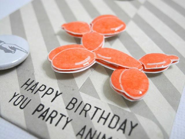 Party Animal Envelope (detail)