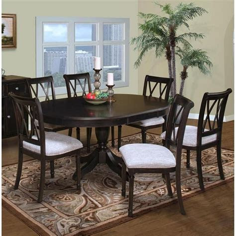 maryhill  piece  dining set  rubbed black