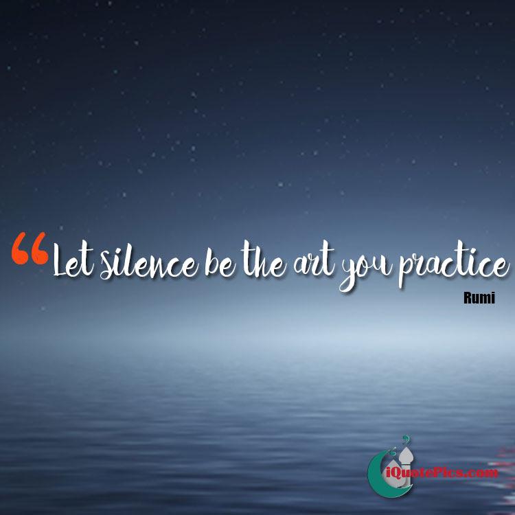 The Art Of Silence Jalal Ad Din Muhammad Rumi