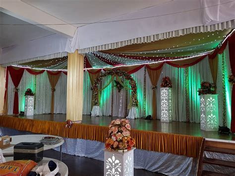 Wedding Decore today at JE T'AIME HALL ,    ATM Wedding