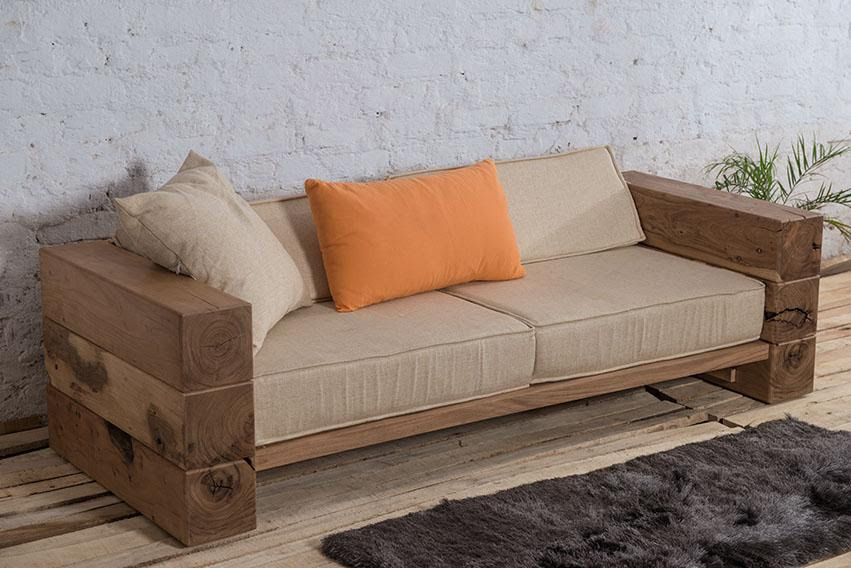 Buy Solid Wood INDIANA Hung Sofa Online in India - Latest ...