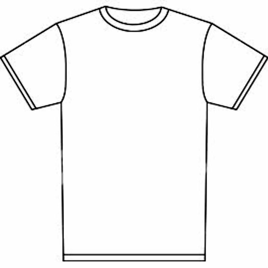 blank t shirt drawing 20