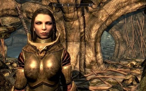 Skyrim - I think she's pretty