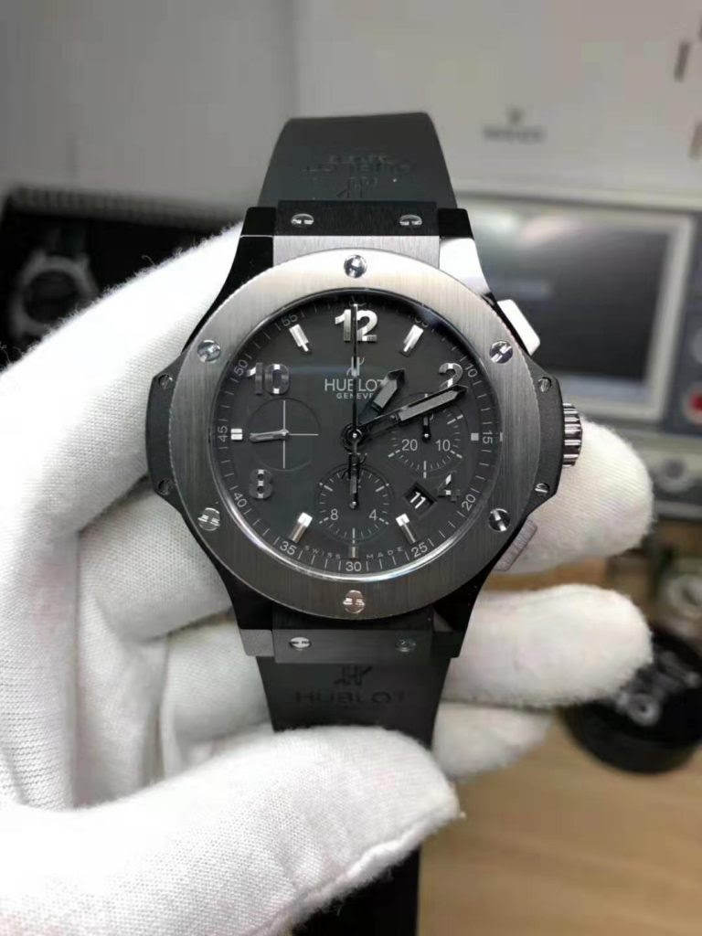 Replica Hublot Big Bang Black Ceramic Watch