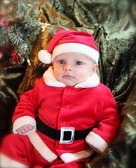 Cutest Baby Santa ever.....