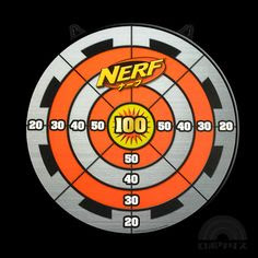 Exhilarating image pertaining to printable nerf targets