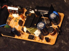 What's inside a 5v power transformer