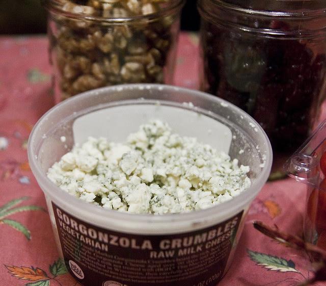 salad in a jar - ingredients - 1cheese