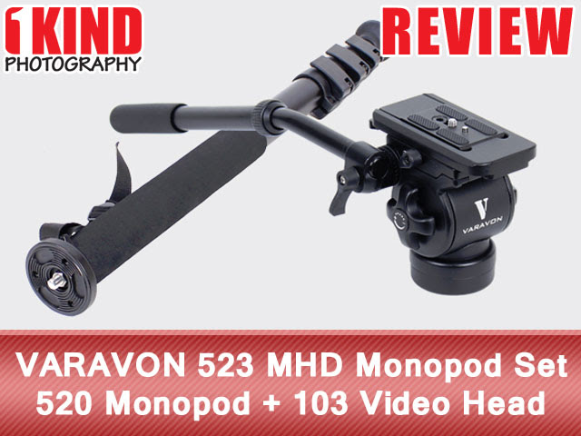 Review: VARAVON 523 MHD Monopod Set - 520 Monopod + 103 Video Head