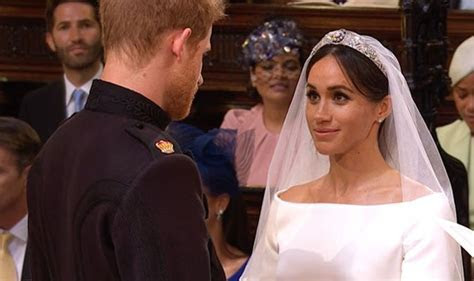 Royal Wedding Vows LIVE: moving moment Meghan Markle and