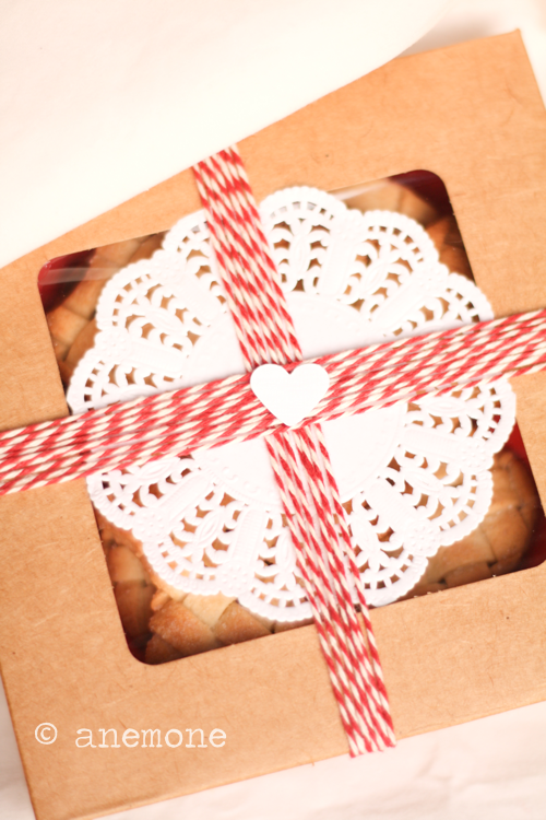 Packaging per biscotti a rete