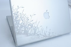 My MacBook Etching