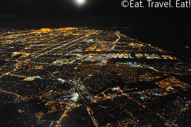 Los Angeles from a Cathay 777-300ER