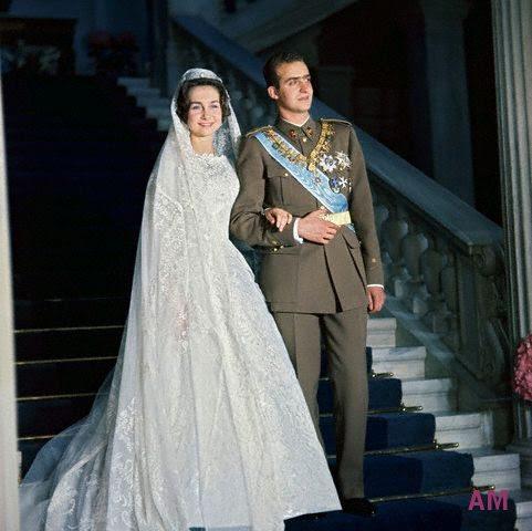 Imagini pentru nunta Regina Sofía a Spaniei