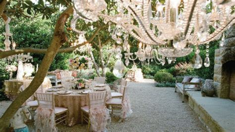 Garden wedding ideas decorations, beautiful outdoor