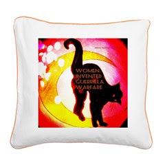 Women Invented Guerrilla War Square Canvas Pillow