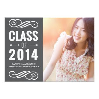 Class of 2014 Photo Card Invitation