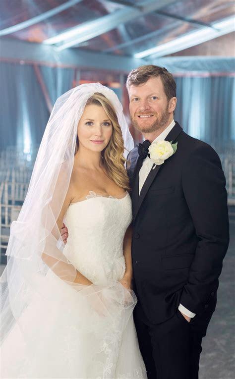 NASCAR Driver Dale Earnhardt Jr. Marries Amy Reimann on
