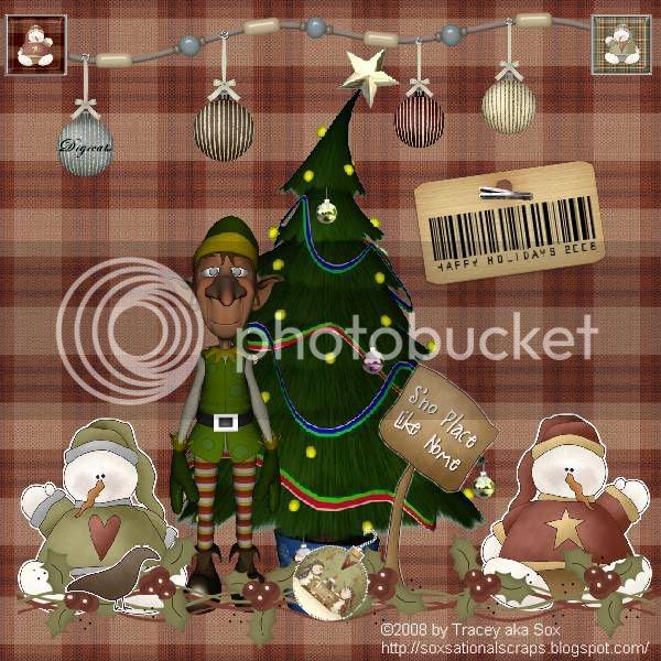 Elves,Snowmen,Christmas,Happy Holidays