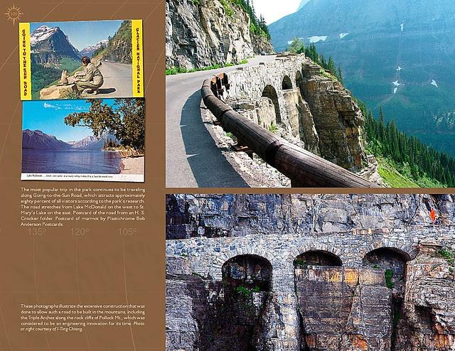 Glacier National Park Book Sample3
