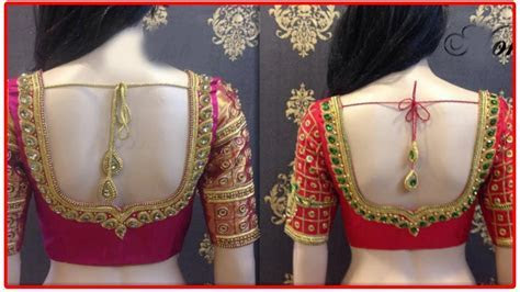 Latest New Blouse Designs 2017   50 Above Bridal Blouse