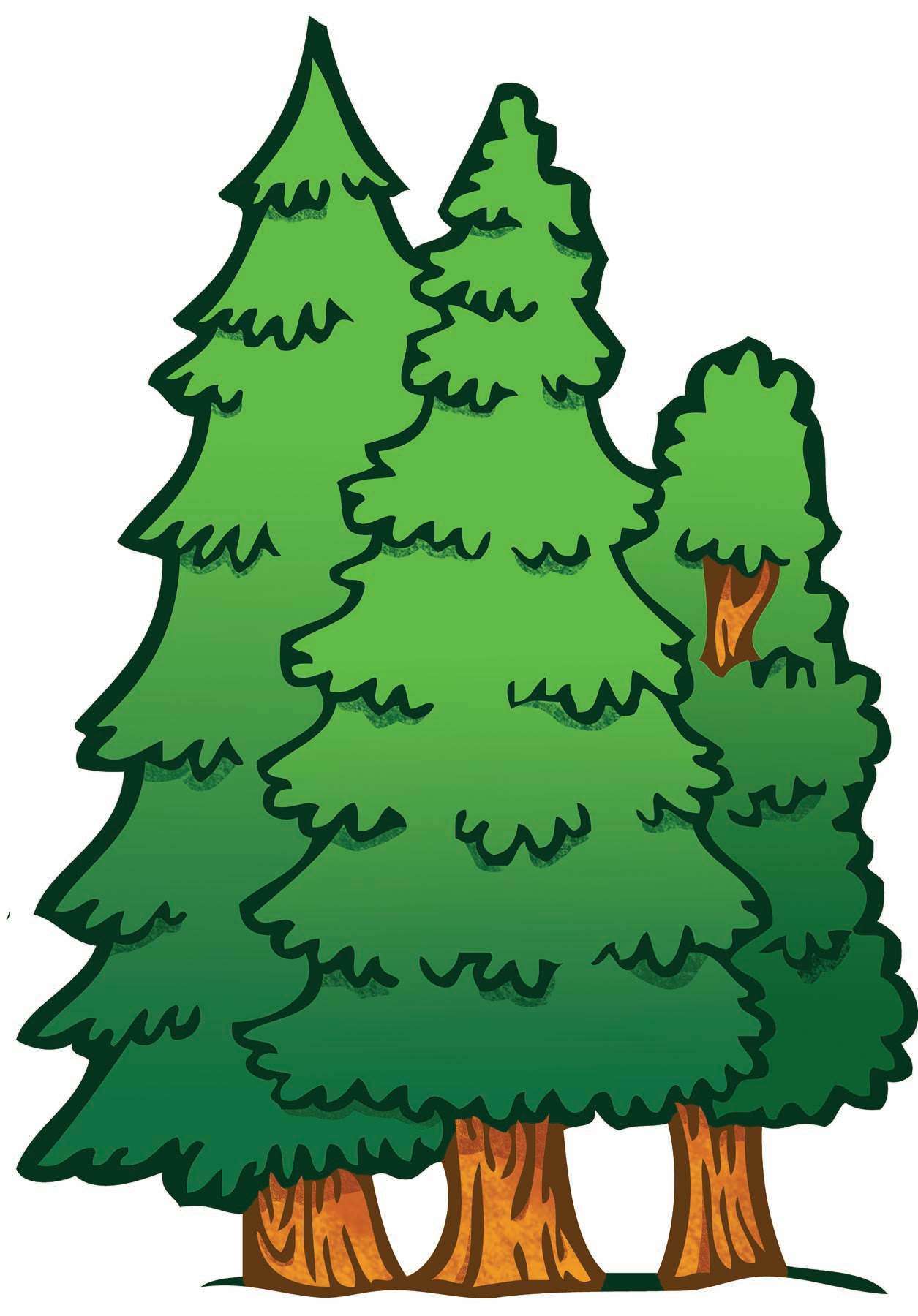 Png Clipart Clip Art Of A Tree Forest