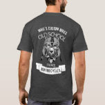 BEAR Old School Fierce Motorcycles T-Shirt