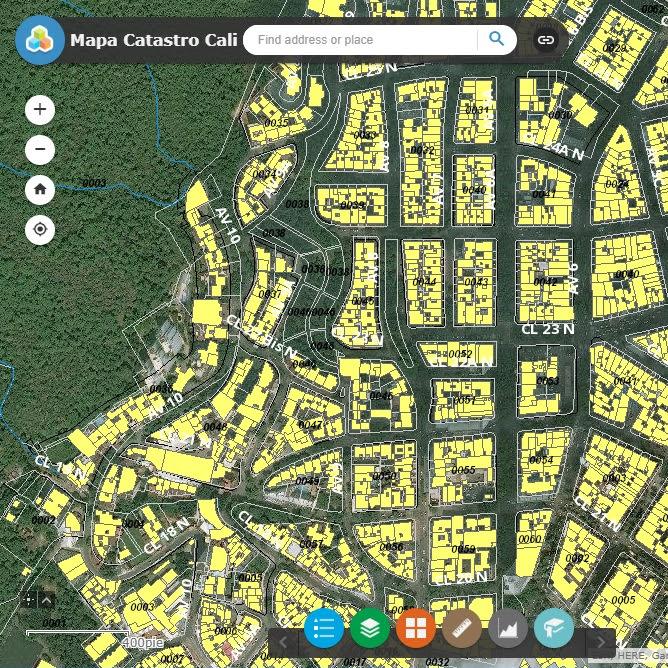 Disponible un nuevo mapa catastral