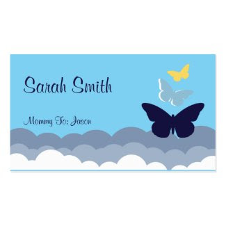 Mommy Calling Card Business Cards
