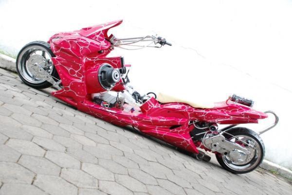 Gambar Modifikasi Yamaha Mio Drag Race Kumpulan Modifikasi