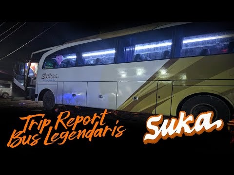 Trip Report Bus SUKA Jepara-Tasikmalaya