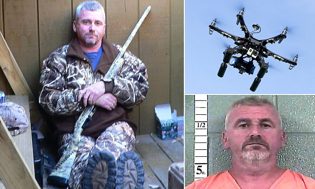 Kentucky man who shot down drone hovering over his house is arrested