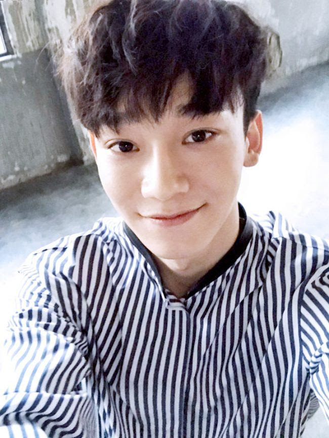 EXO-Ls Are Going Crazy Over Chen's Brand New Hairstyle ...