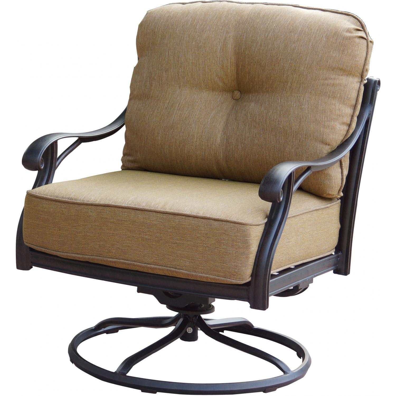Patio Furniture Cast Aluminum Deep Seating Rocker Swivel ...