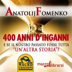 Macrolibrarsi.it presenta il LIBRO: 400 Anni d'Inganni