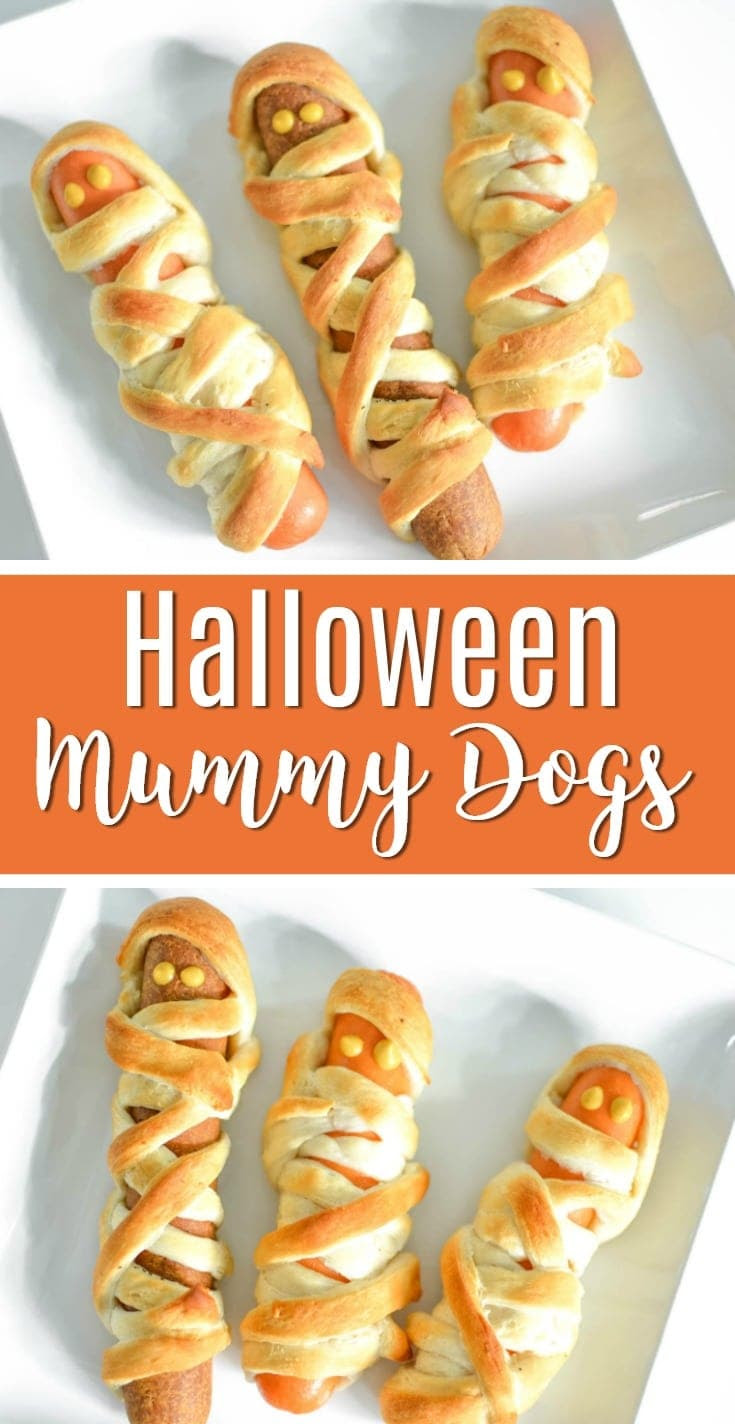 Mummy Hot Dogs Recipe | Halloween Mummy Dogs