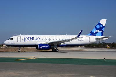 JetBlue Airways Airbus A320-232 WL N834JB (msn 5782) (Sharklets) LAX (Ton Jochems). Image: 920959.